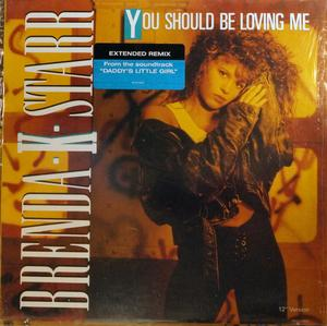 Single Cover Brenda K. - You Should Be Loving Me Starr