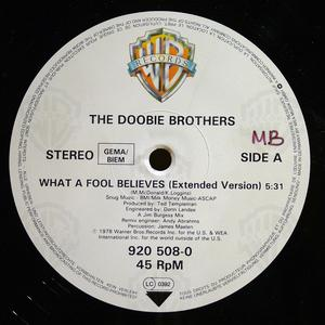 Single Cover The - What A Fool Believes Doobie Brothers