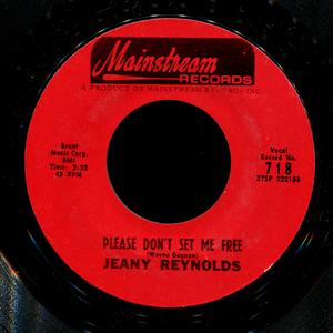 Single Cover Jeannie - Please Don't Set Me Free Reynolds