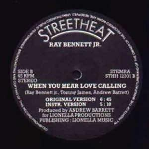 Single Cover Ray - When You Hear Love Calling Bennett Jr.