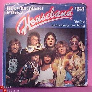 Single Cover What Planet Is This? Houseband - Hey