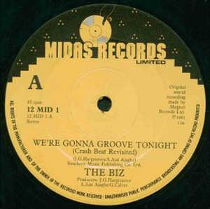 Single Cover The - We're Gonna Groove Tonight Biz