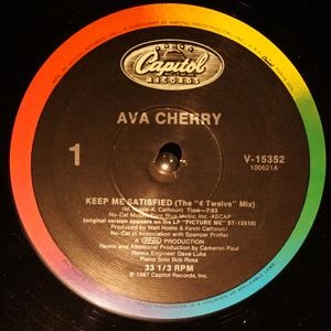 Single Cover Ava - Keep Me Satisfied Cherry