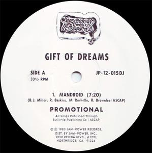 Single Cover Gift Of Dreams - Mandroid