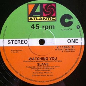 Single Cover Slave - Watching You