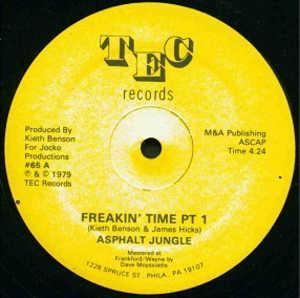 Single Cover Asphalt Jungle - Freakin' Time