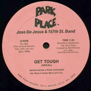 Single Cover Jose - Get Tough De Jesus & 157th St. Band