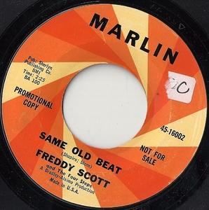 Single Cover Freddie - Same Old Beat Scott