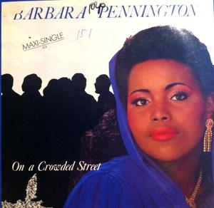 Single Cover Barbara - On A Crowded Street Pennington