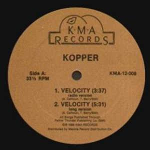 Single Cover Kopper - Velocity