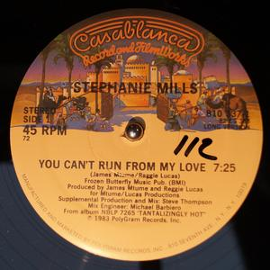 Single Cover Stephanie - You Can't Run From My Love Mills