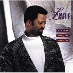 Single Cover Larnelle - I Can Begin Again Harris