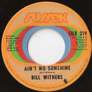 Single Cover Bill - Harlem Withers