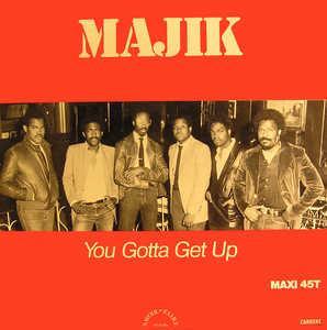 Single Cover Majik - You Gotta Get Up