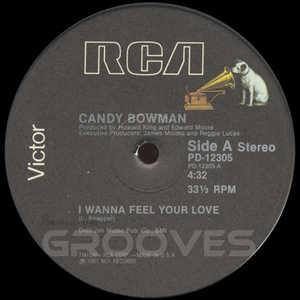 Single Cover Candy - I Wanna Feel Your Love Bowman