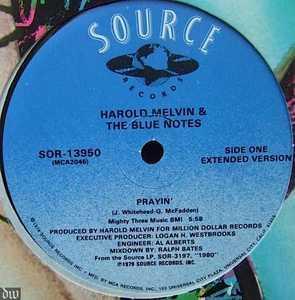 Single Cover Harold - Prayin' Melvin & The Blue Notes