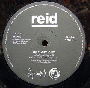 Single Cover Reid - One Way Out