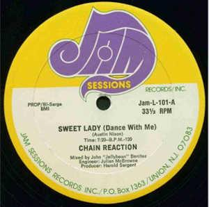 Single Cover Chain Reaction - Sweet Lady (dance With Me)