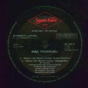 Single Cover Mac - Make Life Worth Living Thornhill