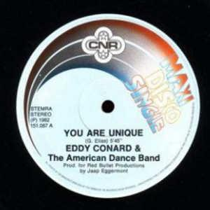 Single Cover Eddy - You Are Unique Conard And The American Dance Band