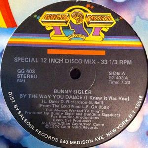 Single Cover Bunny - By The Way You Dance (i Knew It Was You) Sigler