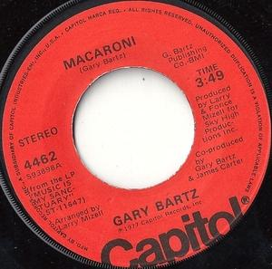 Single Cover Gary - Macaroni Bartz