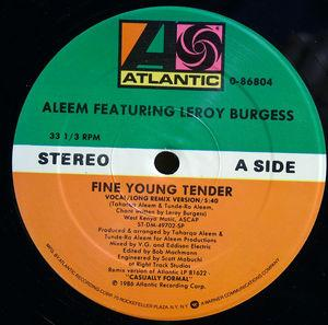 Single Cover Aleem - Fine Young Tender