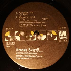 Single Cover Brenda - Gravity Russell