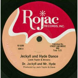 Single Cover Dr. Jeckyll & Mr. Hyde - Jeckyll And Hyde Dance