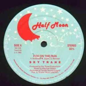 Single Cover Sky Trane - Fox On The Run
