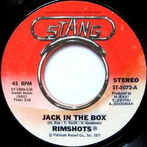 Single Cover The - Jack In The Box Rimshots