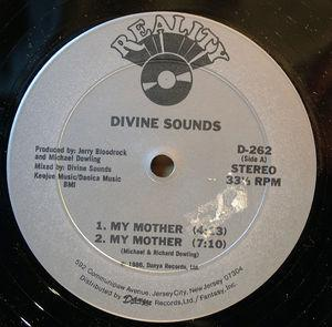 Single Cover Divine Sounds - My Mother
