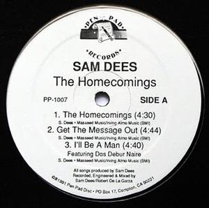Single Cover Sam - The Homecomings Dees