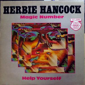 Single Cover Herbie - Magic Number Hancock