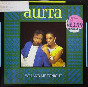 Single Cover Aurra - You And Me Tonight