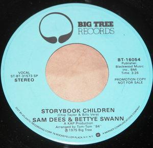 Single Cover Sam - Storybook Children Dees