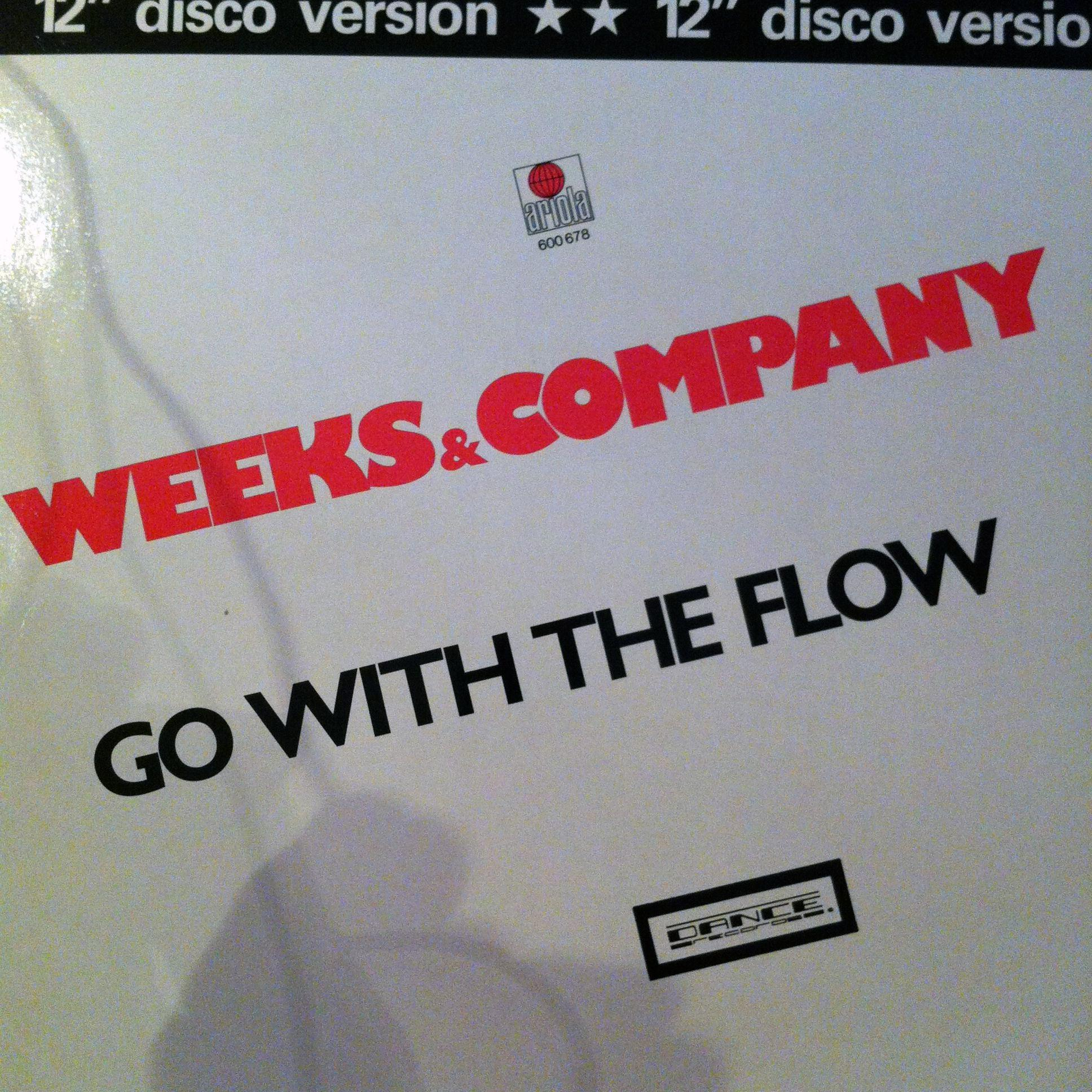 Single Cover Weeks & Company - Go With The Flow
