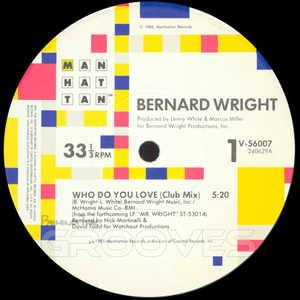 Single Cover Bernard - Who Do You Love Wright