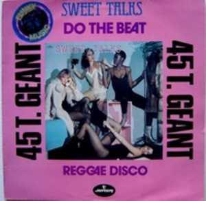 Single Cover Sweet Talks - Do The Beat