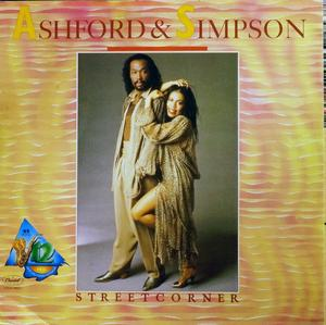 Single Cover Ashford & Simpson - Streetcorner