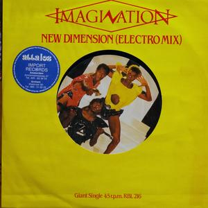 Single Cover Imagination - New Dimension
