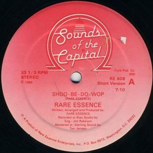 Single Cover Rare Essence - Shoo-be-do-wop