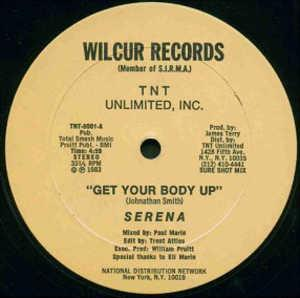 Single Cover Serena - Get Your Body Up