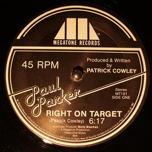 Single Cover Paul - Right On Target Parker