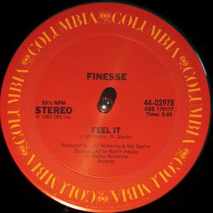 Single Cover Finesse - Feel It