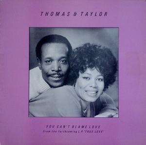 Single Cover Thomas And Taylor - You Can't Blame Love