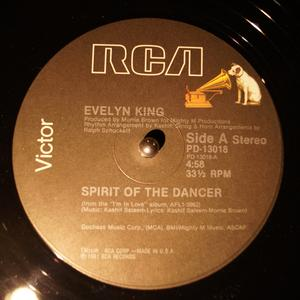Single Cover Evelyn 'champagne' - Spirit Of The Dancer King