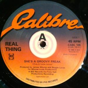 Single Cover The - She's A Groovy Freak Real Thing