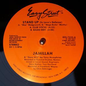 Single Cover Jamillah - Stand Up (in Love's Defense)