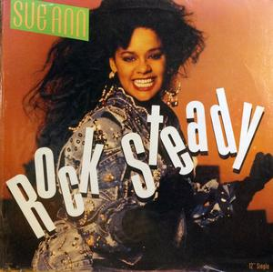 Single Cover Sue Ann - Rock Steady Carwell
